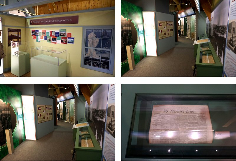 Exhibits in the Monocacy Visitor Center