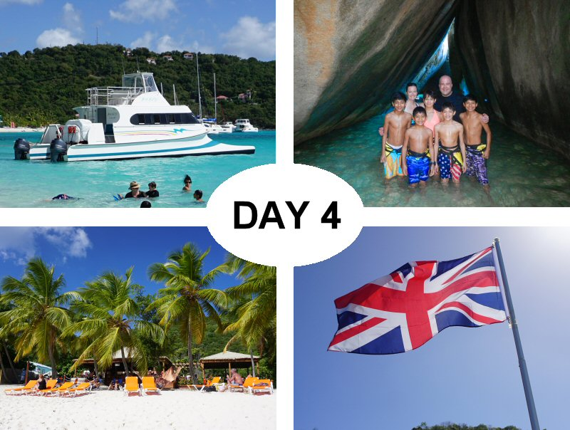 Bad Kitty 2 Boat, The Baths at Virgin Gorda, White Bay Beach on Jost Van Dyke, The Union Jack on Cooper Island